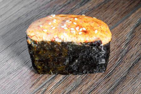 Запечённые суши Мидии