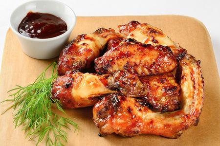 Куриные крылышки BBQ