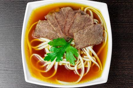 Суп Удон с говядиной