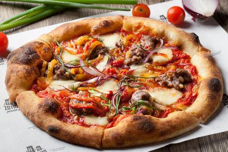 Пицца кебаб из ягненка