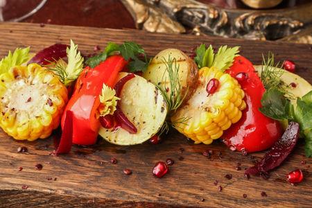 Сезонные овощи гриль