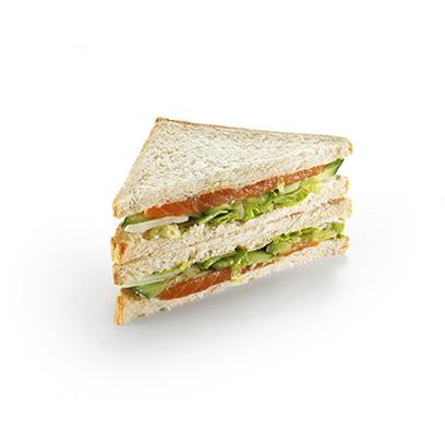 Сандвич Копченый лосось