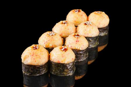 Ролл запеченный Сырный лосось Xxl