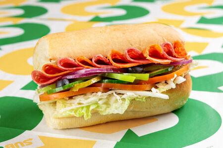 Сэндвич Острый Итальянский