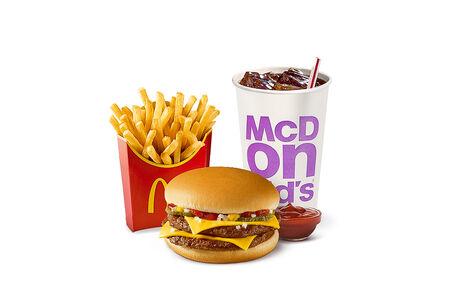 McCombo Двойной Чизбургер