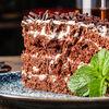 Фото к позиции меню Шоколадный торт