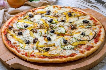Пицца Примавера с овощами-гриль