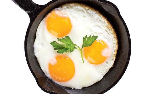 Яичница из 3-х яиц