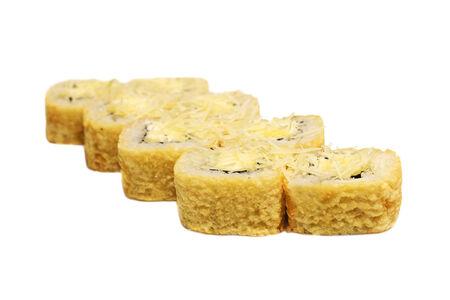 Ролл Горячий четыре сыра
