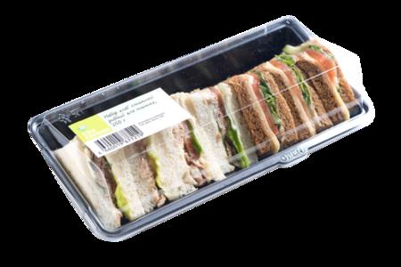 Набор клаб сэндвичей рыбный для пикника