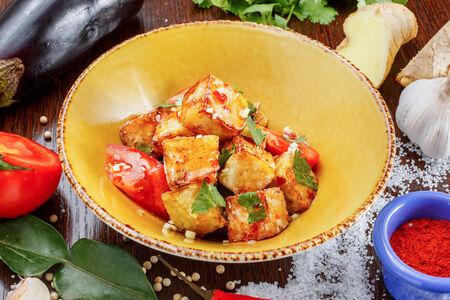 Тайский Салат с баклажанами