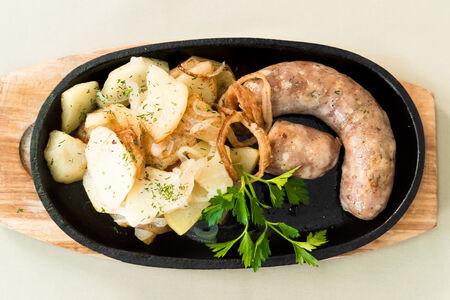 Колбаса свиная ароматная