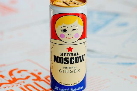 Имбирный лимонад Herbal Moscow