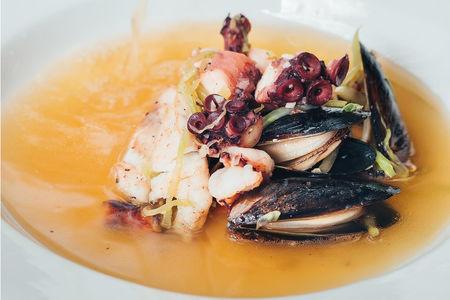 Суп Прозрачный рыбный