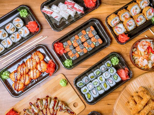 Sushi Nero Wok