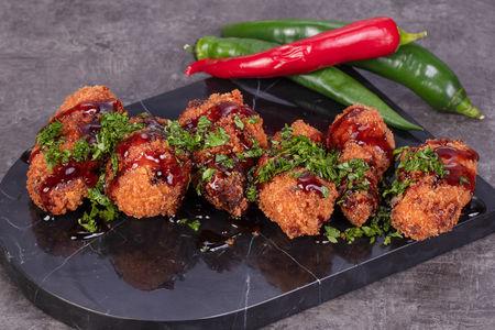 Куриные крылья в китайском соусе