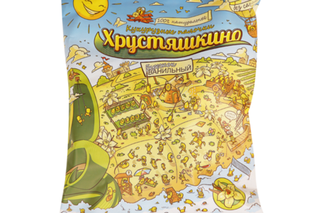 Кукурузные палочки ванильные без сахара, Хрустяшкино