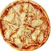 Фото к позиции меню Пицца с курицей и ананасами