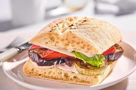 Сэндвич Чиабатта гриль