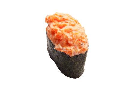 Гункан спайси копченый лосось