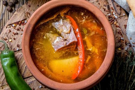 Суп Хашлама с говядиной