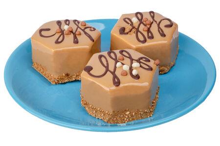 Пирожное Карамель-шоколад