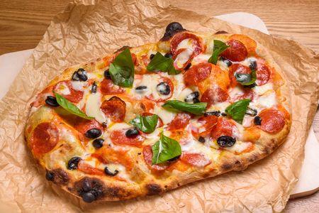 Пицца Пино Пепперони с луком