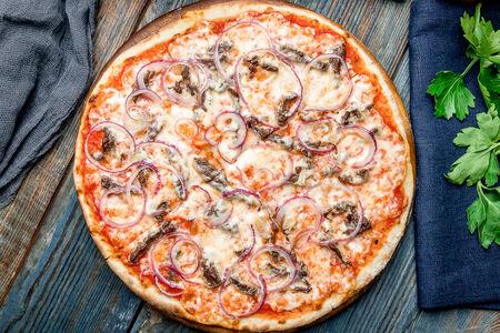 Пицца с говяжьей вырезкой