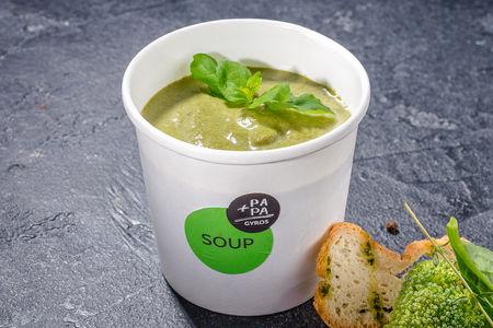 Крем-суп Брокколи-шпинат