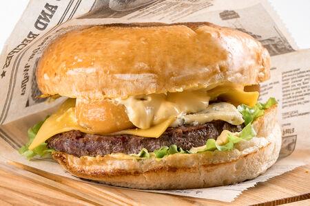Бургер Четыре сыра