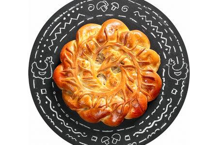 Пирог Курник настоящий