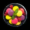 Фото к позиции меню Набор пирожных Макарони Ягодное ассорти Selection