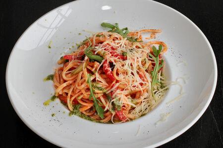 Спагетти Вегетариано