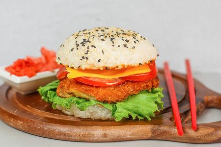 Рисбургер Свинина Тонкацу
