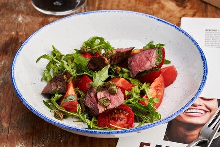 Салат Стейк с томатами