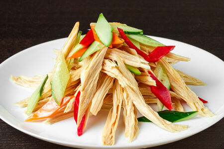 Салат из спаржи по-пекински