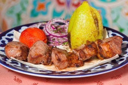 Шашлык из ягненка по-узбекски
