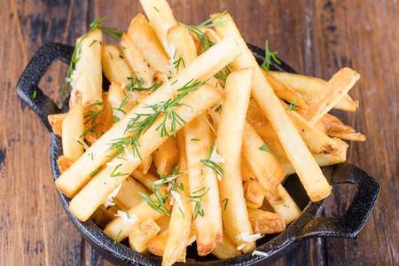 Картофель фри чесночный
