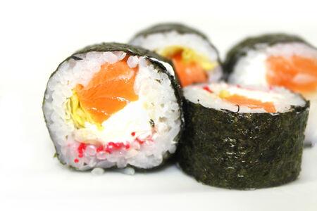 Ролл Киото с лососем