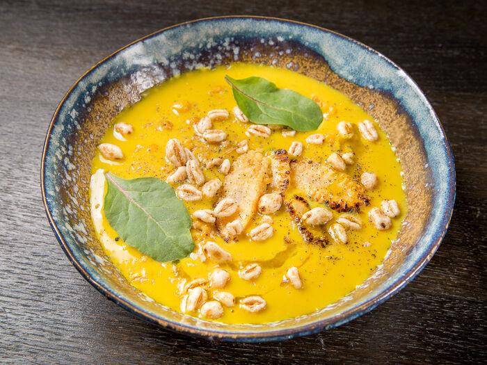 Кукурузно-тыквенный суп-пюре