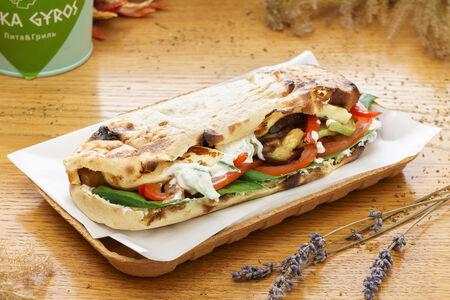 Киприйская пита с овощами и сыром