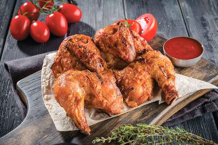 Цыпленок тапака на углях