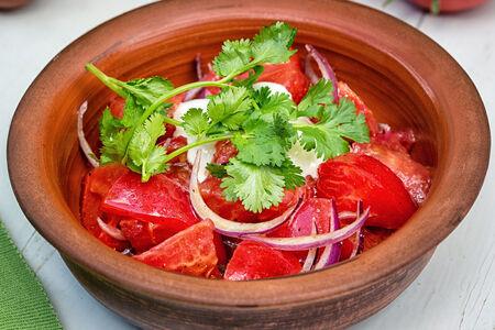 Салат из бакинских томатов