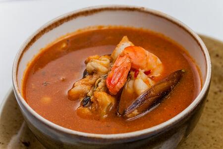 Суп Сопа Чильпачоле де марискос