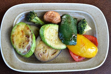Казан кебаб из овощей
