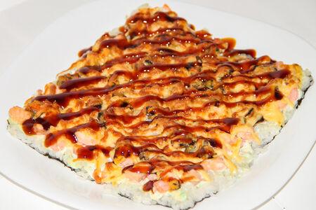 Японская пицца Морская
