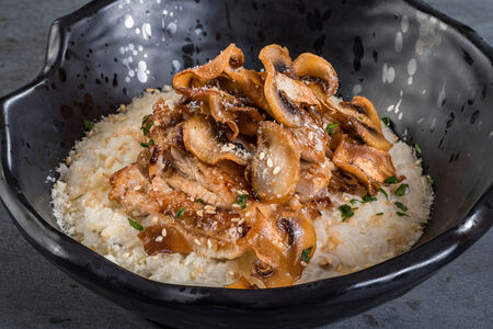 Сливочный рис