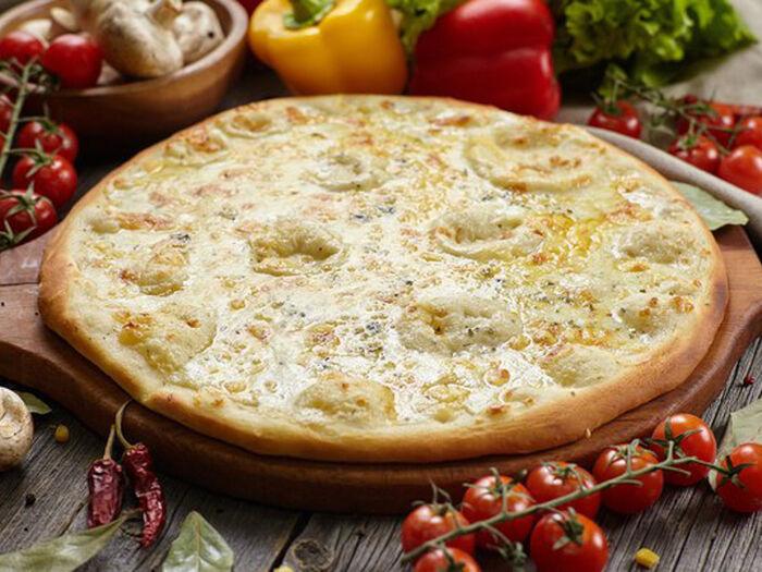 Пицца Сырное ассорти