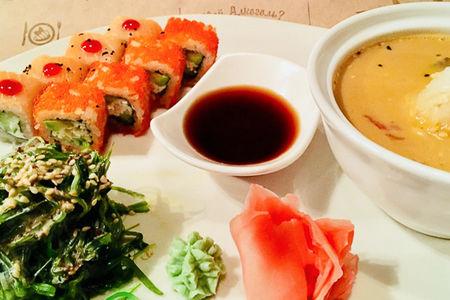 Обед японский