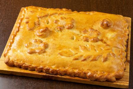 Пирог с яйцом и зеленым луком Биг сайз